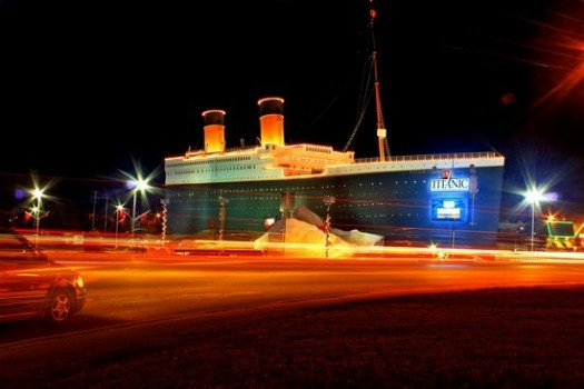 Titanic Museum Attraction